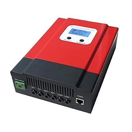 Mouchao Regulador de Carga Solar DC12V / 24V / 36V / 48V ...