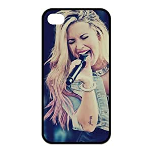 DesignerDIY Custom Cool Cover Pop Rock Singer Series Demi Lovato TPU Shell Case For iphone 4/4s Iphone4Mar9022 by Maris's Diaryby Maris's Diary