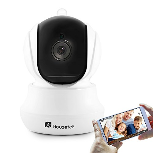 Wireless Security Camera, Houzetek 720P HD Indoor WiFi Home