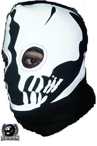 medelin 2agujeros, zorro disfraz de ninja, 1Talla Adulto ...