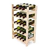 Mecor Wine Rack Natural
