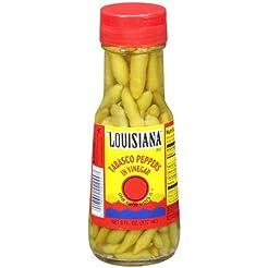 Louisiana Tabasco Peppers in Vinegar 6oz...