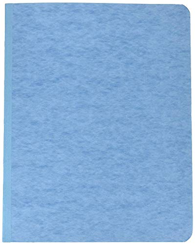 Acco Pressboard Report Cover, Prong Clip, Letter, 3 Capacity, Light Blue - (Pack of 25)