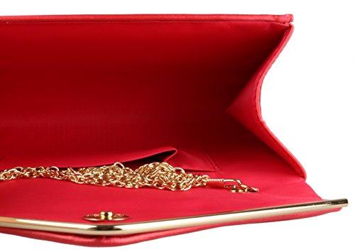 Girly Handbags - Cartera de mano mujer coral