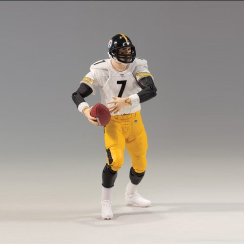 NFL Pittsburgh Steelers McFarlane 2012 Playmakers Série 3 Ben Roethlisberger Action Figure