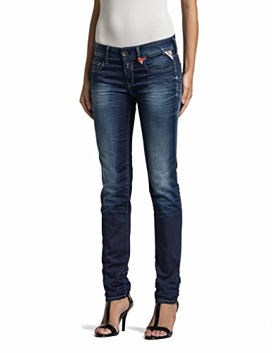 9 Donna Replay Denim blue Blu Rose Da Jeans zaz4wq70A