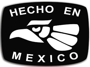 amazon com hecho en mexico sticker made mexican decal hispanic rh amazon com made in mexico logo tattoo premium tequila made in jalisco mexico logo