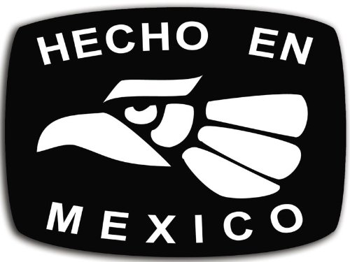 Hecho En Mexico Sticker (latino mexican city tijuana chihuahua hispanic)
