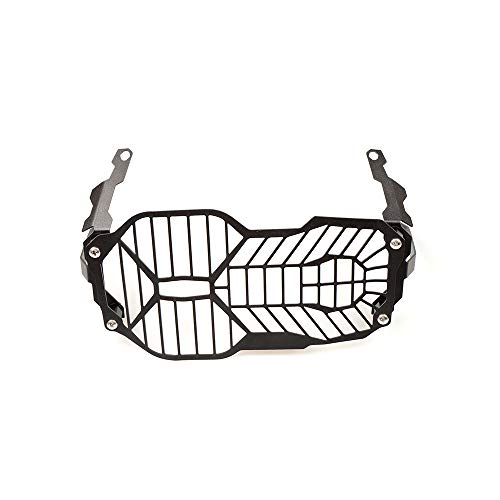 R1200GS Motorcycle Headlight Grille Guard Protector for BMW R1200GS LC ADV Adventure 2012 2013 2014 2015 2016 2017 2018(Black) (Motorcycle Headlight Guard)