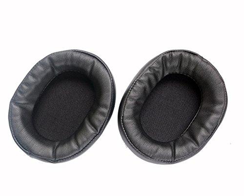 [해외]귀 패드 Earpads 복구 가죽 Earmuff 방석 수리 부품 for Audio Technica 헤드폰 ath-ws1100is ath-ws1100-(earmuffes) 헤드셋 (블랙) / Ear Pad Earpads Repair Leather Earmuff Cushion Repair Parts for Audio - Technica ath-ws1100 ath-ws1100is...