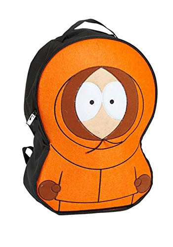 Concept One Luggage Men's South Park Kenny McCormick Cosplay Backpack, Orange, One Size