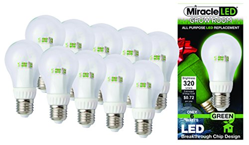 First Green Led Light Bulb