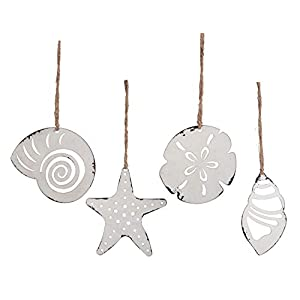 41r-ef4wC2L._SS300_ 100+ Best Seashell Christmas Ornaments