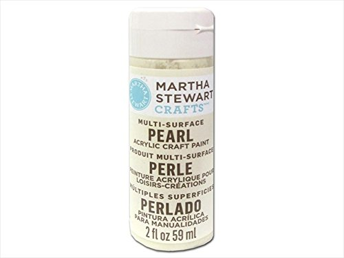 Pearl Gold Paint (Martha Stewart 33515 Multi-Surface Craft Paint 2 Oz, Gold Mother of Pearl)
