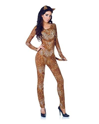 Wild Minx - Leopard Cat Suit Adult Costume Size 6-8 (Child Wild Cat Costume)