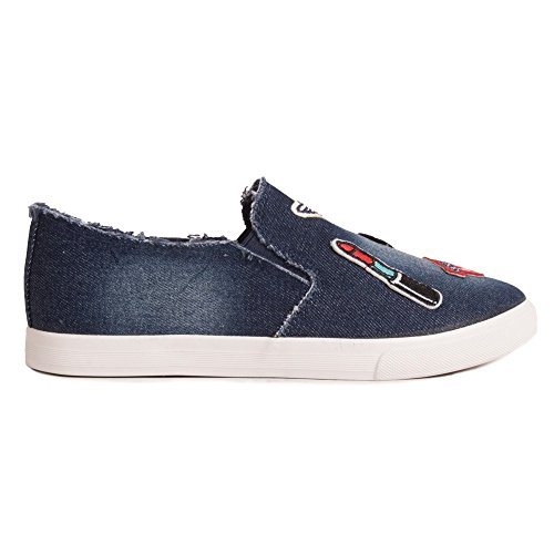 Donna Bleu 2025 Sneaker Marine Primtex wqH14ZY