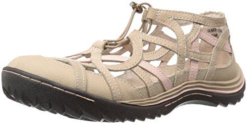 Peon Dusted Kvinners Roman Jambu Flat Taupe H0Xpq
