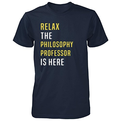JTshirt.com-4310-Relax The Philosophy Professor Is Here. Funny Gift - Unisex Tshirt-B01M6XN828-T Shirt Design