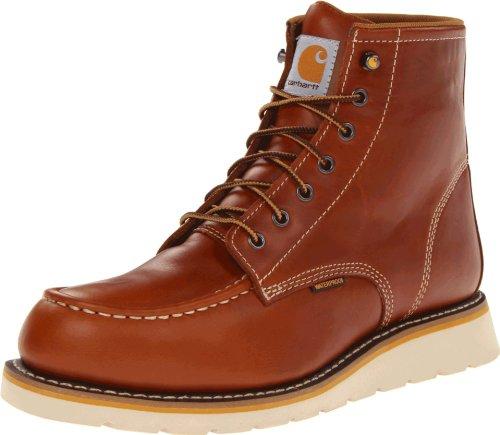 Carhartt Men's CMW6170 Work Boot,Tan Full Grain,10 M US