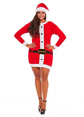 (Uisex Men Women Ugly Christmas Sweater. Funny Festive Tunic Santa Xmas Pullover)