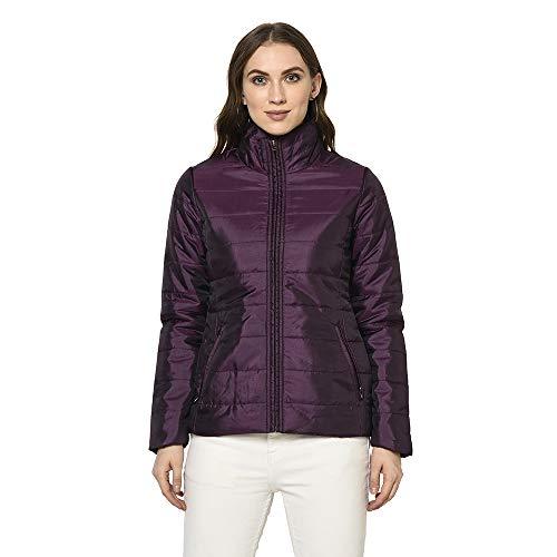 Trufit Women's Solid Polyester Full Sleeve Jacket Women's Jackets