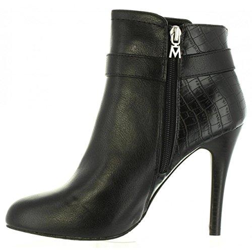 Mid Women C29216 MARE MARIA 61395 Negro Boots 1BPEf4qfzw