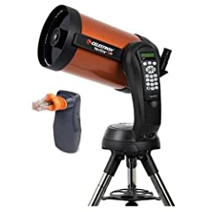 Celestrons signature orange-tube telescope combines advanced features and excellent optics in one easy-to-use system, the NeXStar 8SE. Its the perfect choice for your first serious telescope, offering impressive views at an economical price.O...