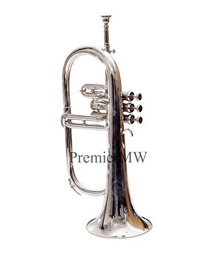 Premier MW Flugel Horn 3 Valve, Bb (Nickel)
