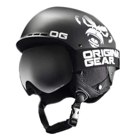 H-SNOWBOARD ORIGINAL GEAR ヘルメット スキー スノーボード メンズ OG18-1 WS073149(海外直送品) グレー M(54~58)