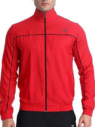 Azani Men's Spirit Soft Light Weight Full Zip Comfortable Woven Jacket