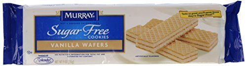 Murray Sugar-Free Vanilla Creme Wafer Cookies-9 oz, 2 ()