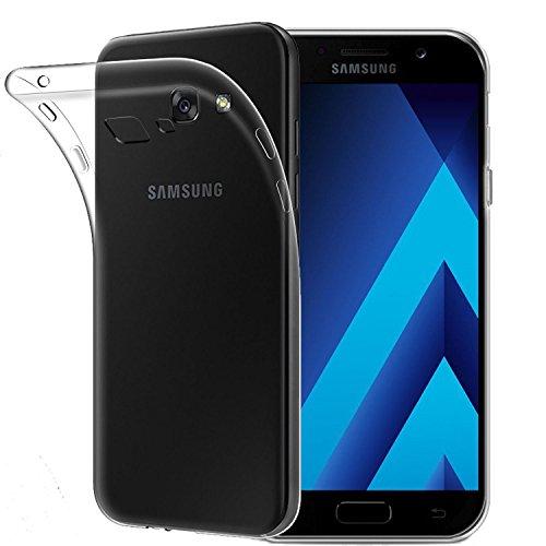 Galaxy A5 2017 Hülle, Acelive Transparent TPU Silikon Handyhülle Schutzhülle Case für Samsung Galaxy A5 2017(Nicht für a5 2016,2015)