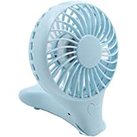 ASOON Mini USB Rechargeable Fan Air Cooling Handheld Fan Personal Cooling Fans for Home Office