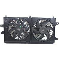 MAPM Premium GRAND PRIX 04-08 / LACROSSE 05-09 RADIATOR FAN SHROUD ASSEMBLY, Dual Fan