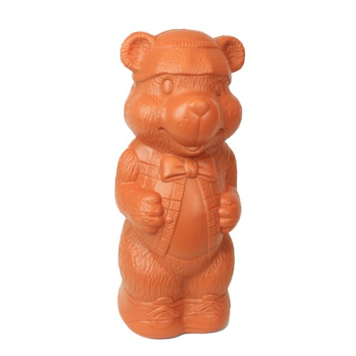 Honey Bear Money Bank: Large Plastic Blow-Mold Design - Classic Retro Design by Fantazia Marketing -