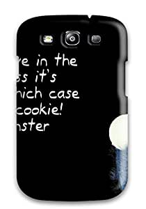 New Premium Flip Case Cover Today Funny Desktops Skin Case For Galaxy S3
