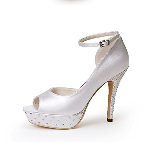 Minitoo , Sandales pour femme - beige - Ivory-12cm Heel,