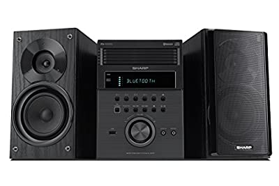 Sharp XL-BH250 Sharp 5-Disc Micro Shelf Speaker System with Bluetooth