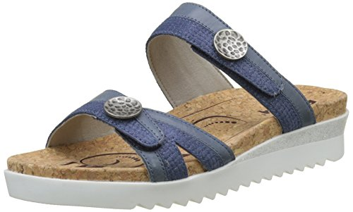 Hollywood Mules Romika 01 Women's Bleu Jeans 8wg4Oax4q
