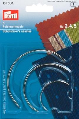 131350 - Polsterernadeln ST 2,4,5 silberfarbig geb
