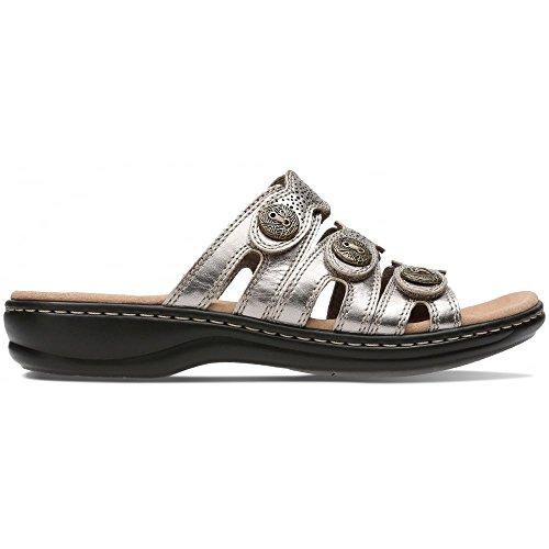 On Clarks Grace Zinn Metallic Sandalen Damen Slip Leisa zgz5qwSB