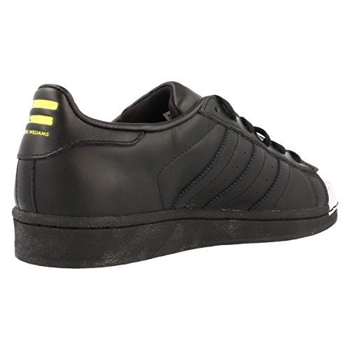 YELLOW CBLACK Pharrell adidas Superstar Hombre Zapatillas para CBLACK S83360 Supershell pB8q8w