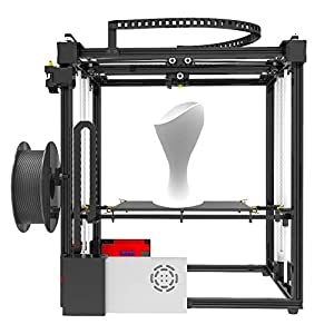 Tonglingusl 3d printers x5s diy 3d printer kits dual z axis large print size 330 330 400mm with lcd12864 screen metal frame