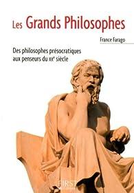 Les Grands philosophes par France Farago