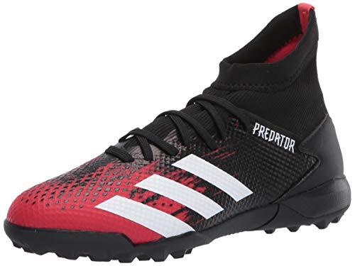 adidas Men's Predator 20.3 Turf Soccer Shoe, Core Black/White, 13