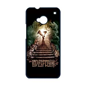 Moda Trendy Popular Style Design Led Zeppelin Vintage Patterned Cover Protective Phone Cases For HTC One M7 (5)