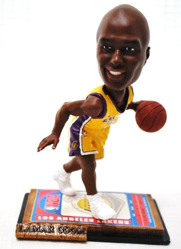 LA Lakers NBA #7 Lamar Odom rare ticket base action Bobble Head