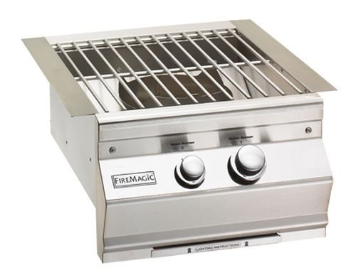 Aurora Stainless Steel Power Burner - LP by Fire Magic Grills