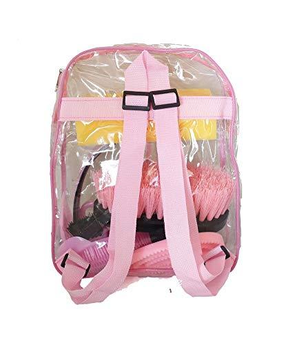 Buy pink horse grooming set