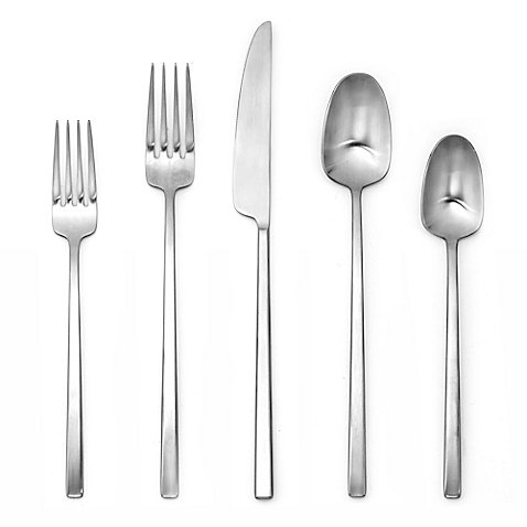 Manor Salad Serving Spoon (Artisanal Kitchen Supply Edge 20-Piece Flatware Place Setting in)